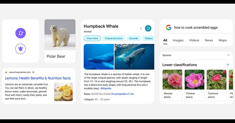 Google está rediseñando los resultados de búsqueda para móviles