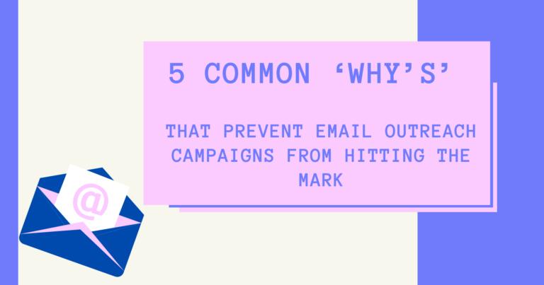 5 razones comunes por las que las campañas de correo electrónico pierden su objetivo