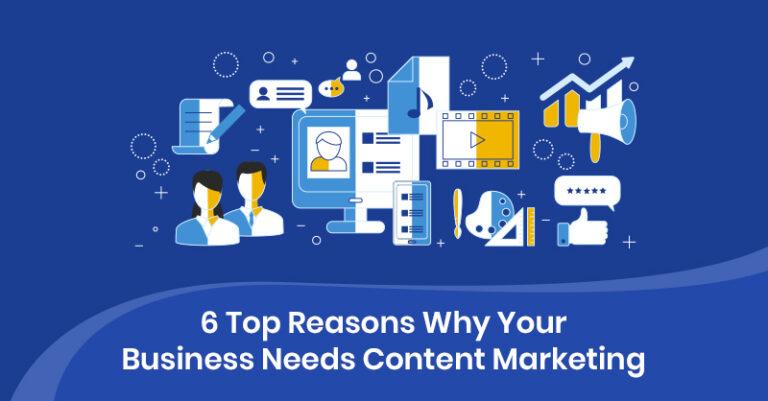 6 razones principales por las que su empresa necesita marketing de contenido