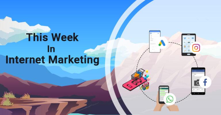 Esta semana: ¡Google, Instagram, Facebook y más!