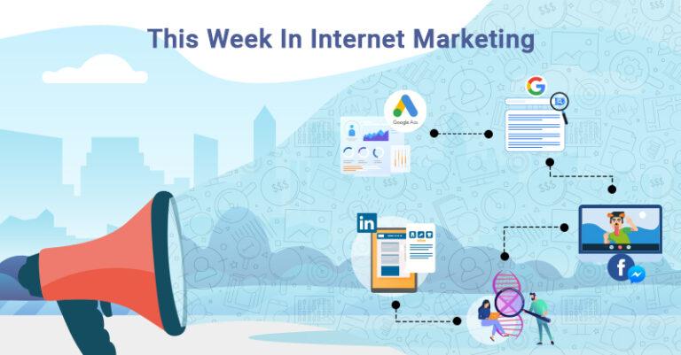 Esta semana: ¡Google, LinkedIn, Facebook y más!
