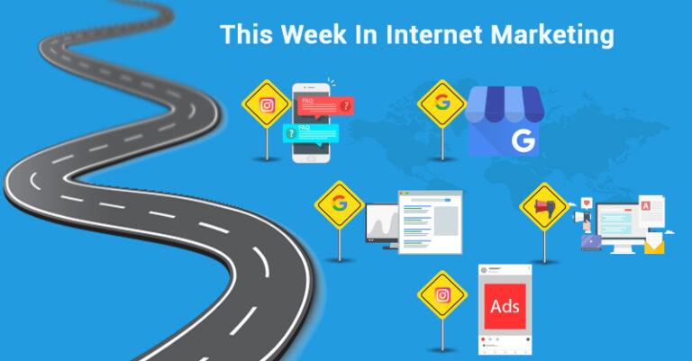 Esta semana: Instagram, GMB, Google y más.