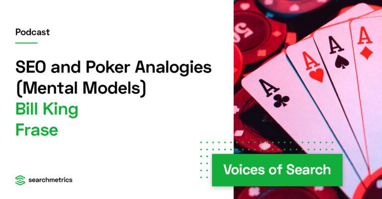 Analogías SEO y póquer (modelos mentales)