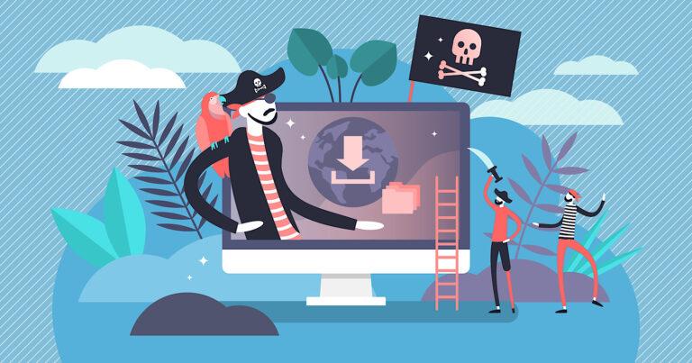 El tráfico de Google a los sitios pirateados cae después de las actualizaciones del algoritmo