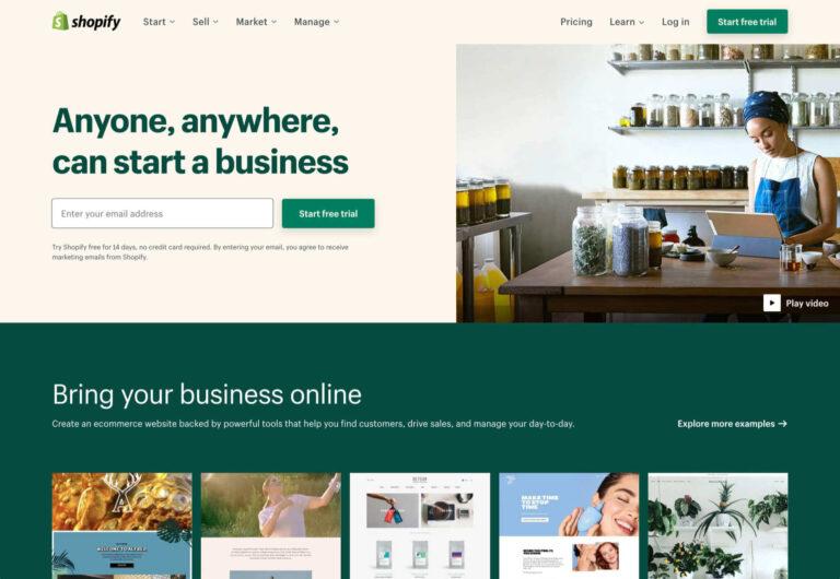 Las 6 mejores soluciones de comercio electrónico