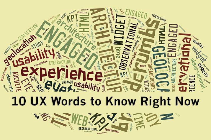 10 frases y términos de UX que necesita saber ahora mismo