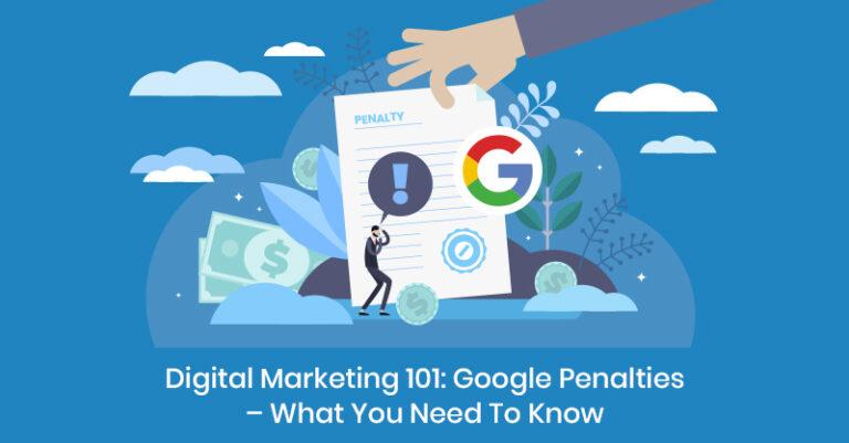 ¿Qué es la penalización de Google? Cómo evitarla