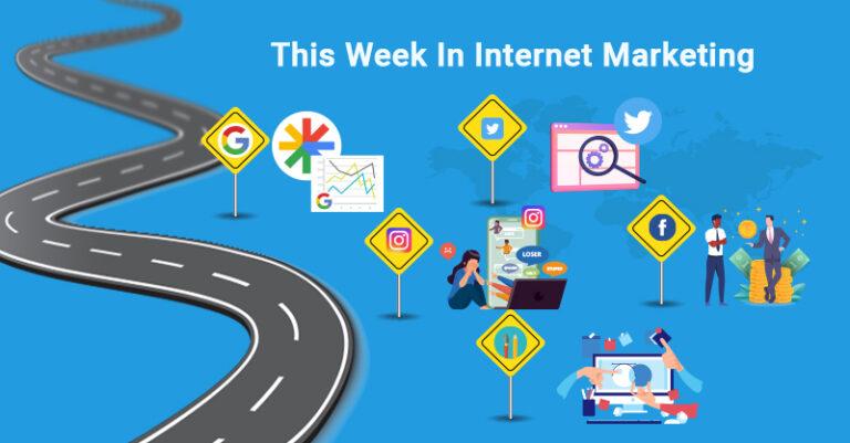 Esta semana: Google, Twitter, Instagram, Facebook y más