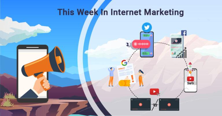 Esta semana: Twitter, Facebook, YouTube y más.