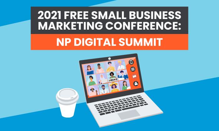 Conferencia gratuita de marketing digital y ventas en línea para pequeñas empresas