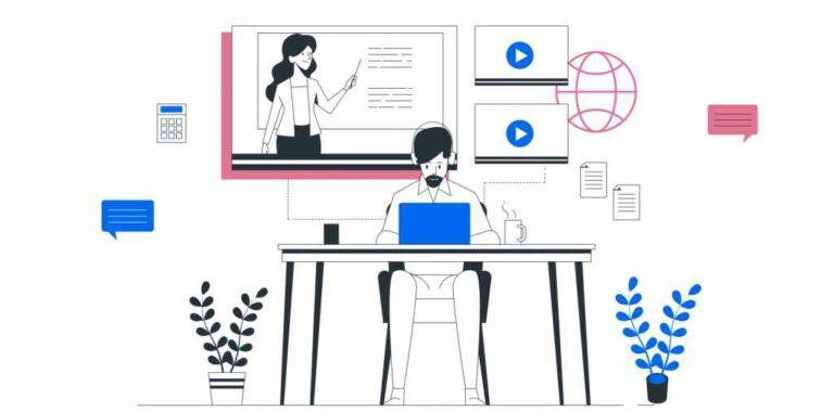 No hay compromiso para las aplicaciones de aprendizaje electrónico atractivas |  de Onething Design |  Marzo 2021