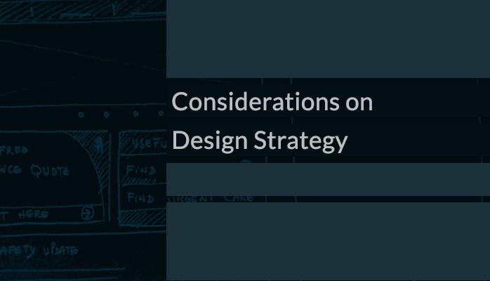 Consideraciones de estrategia de diseño |  Pedro Canhenya |  Marzo 2021