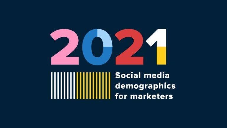 Datos demográficos de las redes sociales para informar su estrategia en 2021