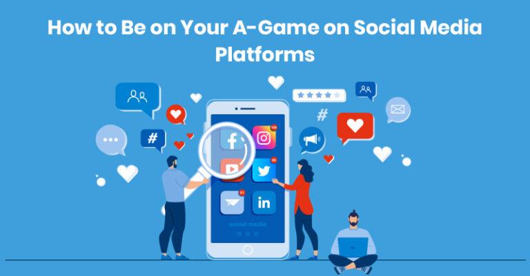 Cómo estar en tu juego en las redes sociales