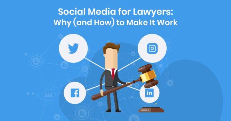 Redes sociales para abogados: por qué (y cómo) hacer que funcionen