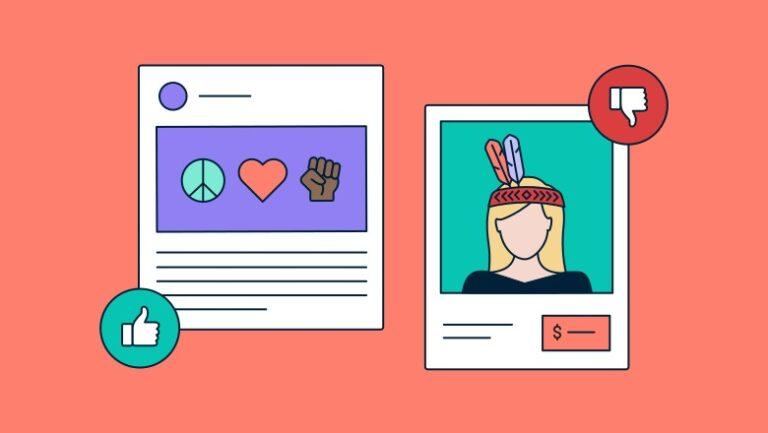 Apropiación cultural en marketing y redes sociales
