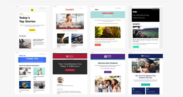 Consejos para crear una plantilla de correo electrónico HTML ganadora