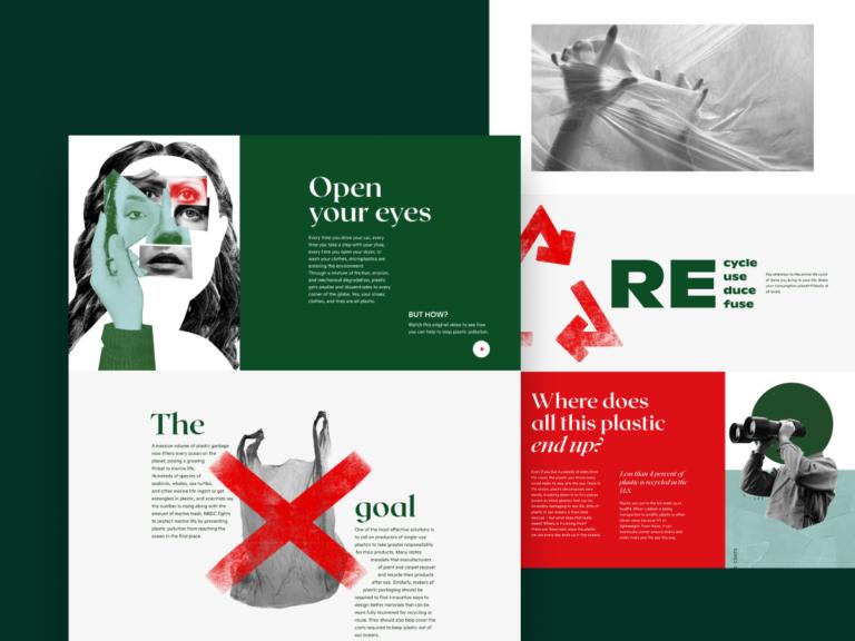 Diseño Web Creativo Ambiental y Ecología |  por tubo |  Abril de 2021