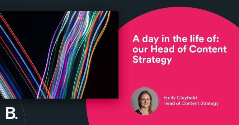 Un día en la vida: nuestro jefe de estrategia de contenido