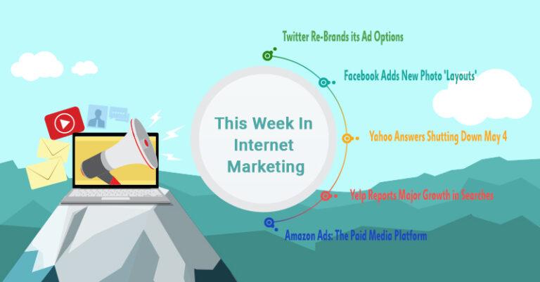 Esta semana: Twitter, Facebook, Yahoo y más.