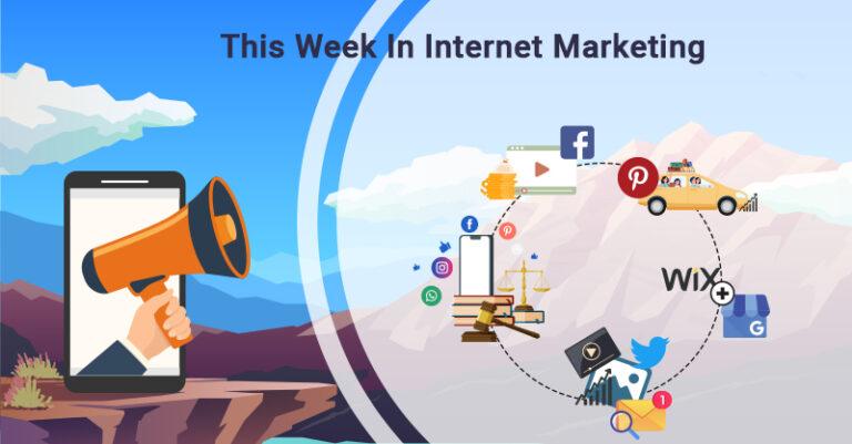 Esta semana: Facebook, Pinterest, Twitter y más.