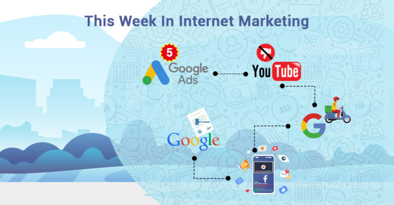 Esta semana: YouTube, Google, Facebook y más.