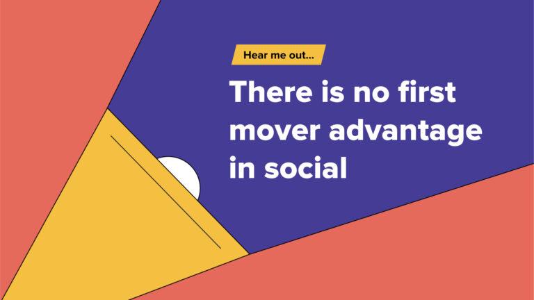 Escúchame … Las redes sociales no se tratan de innovación.  Se trata de quién puede hacerlo mejor.