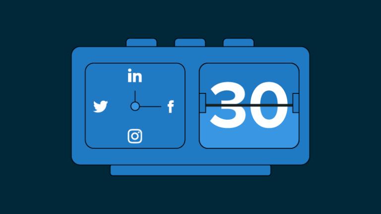 Plan de redes sociales de 30 días [Template]