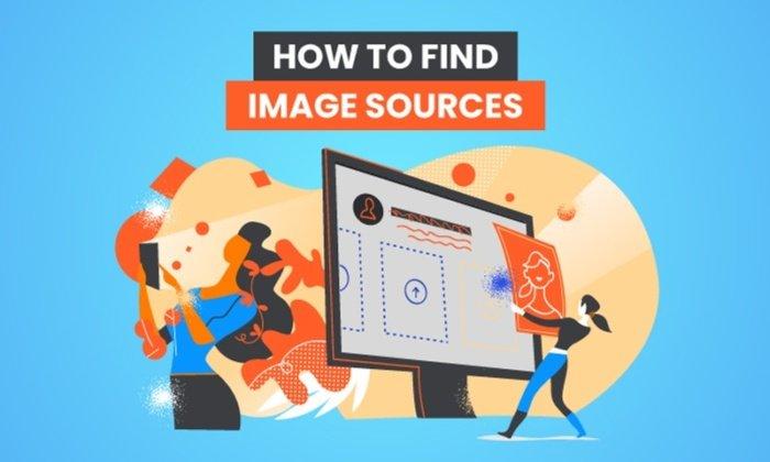¿Cómo encuentro fuentes de imágenes para una asignación o examen adecuados?