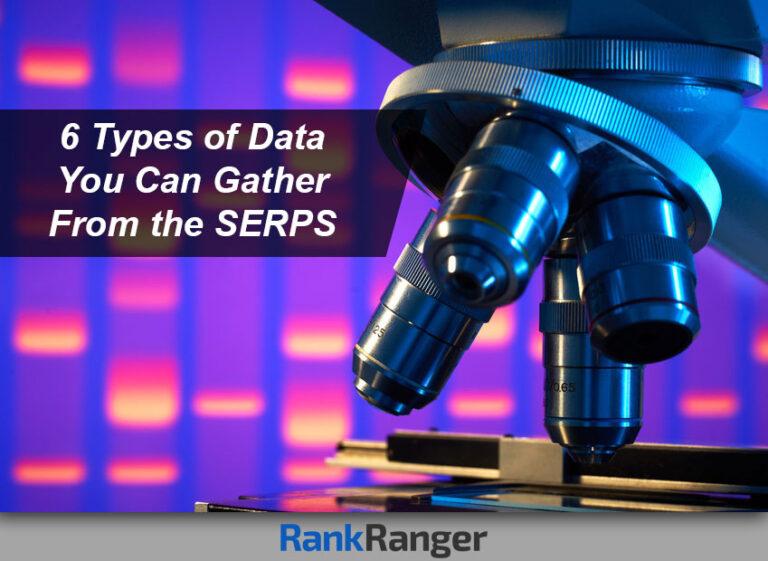 6 tipos de datos que puede obtener del SERP