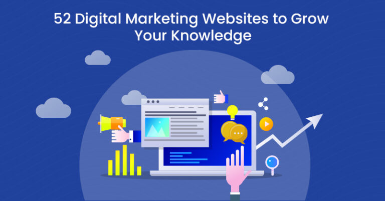 52 sitios web de marketing digital para ayudarlo a ampliar sus conocimientos
