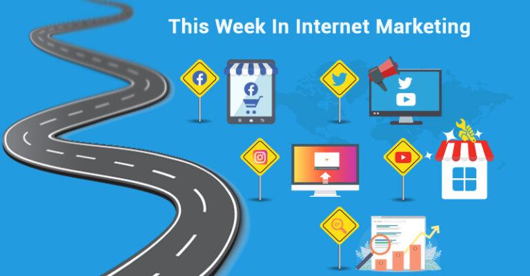 Esta semana: Facebook, Twitter, Instagram y más.