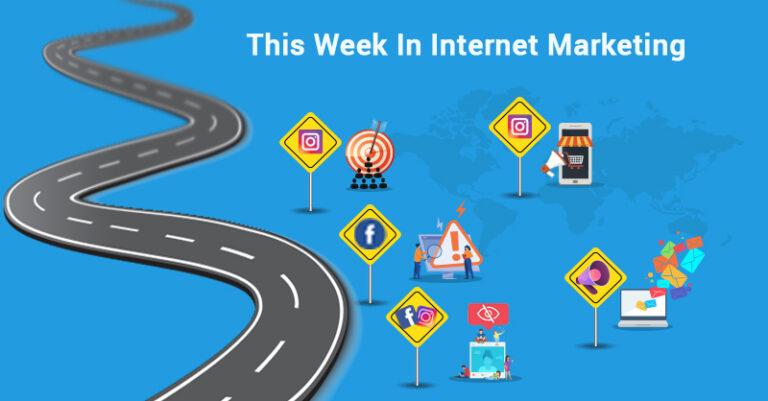 Esta semana: Instagram, Facebook, correo electrónico y más.