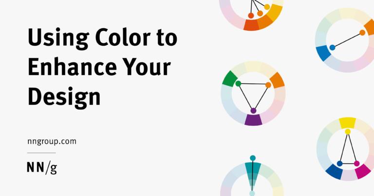 Usar el color para mejorar su diseño
