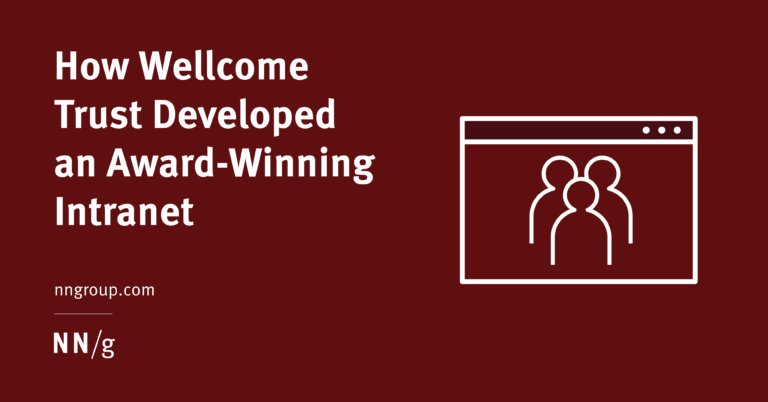 Cómo Wellcome Trust creó una intranet galardonada