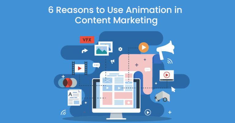 6 razones por las que debería utilizar la animación en el marketing de contenidos