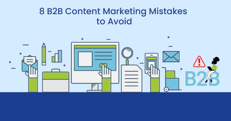 8 errores en el marketing de contenidos B2B para evitar