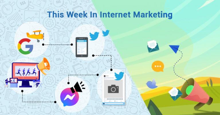 Esta semana: ¡Google, Twitter, Facebook y más!