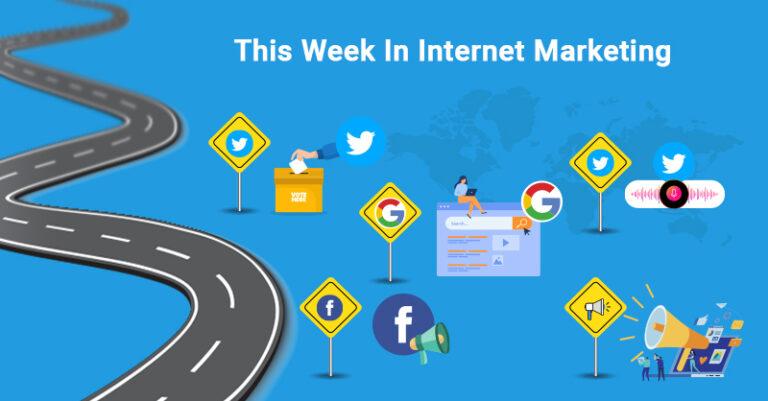 Esta semana: Twitter, Google, Facebook y más.