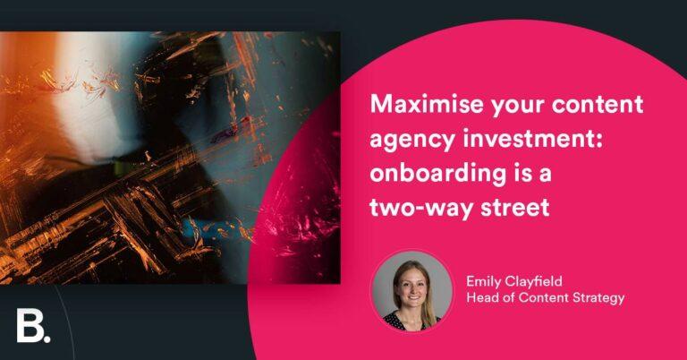 Maximice la inversión de su agencia de contenido: la incorporación es una vía de doble sentido