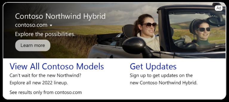 Microsoft Advertising anuncia nuevos anuncios multimedia para búsquedas