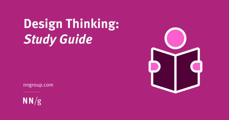 Design Thinking: una guía de estudio