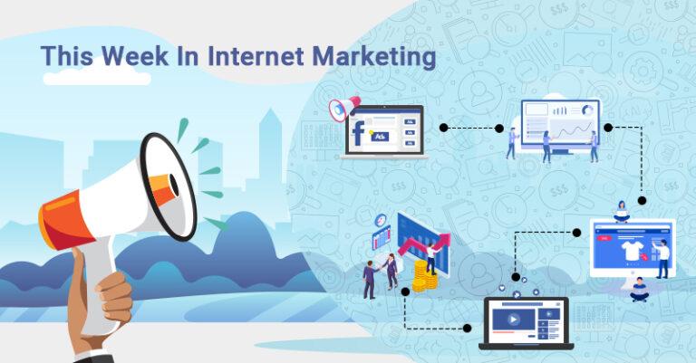 Esta semana: Facebook, productividad de marketing, tendencias de comercio electrónico y más.