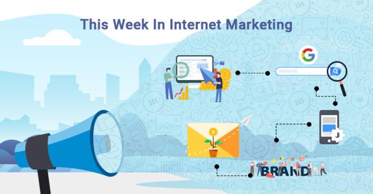 Esta semana: búsqueda de Google, optimización del sitio, marketing por correo electrónico y más.