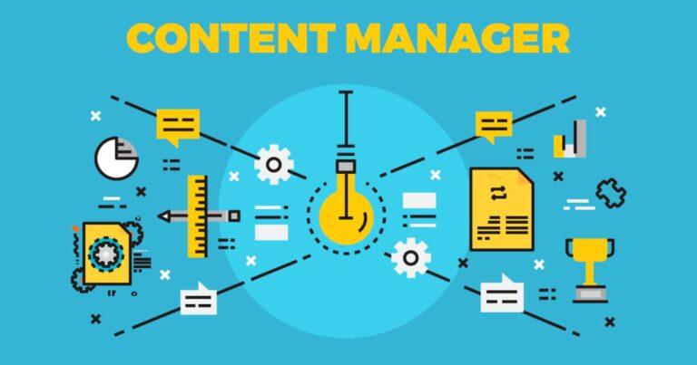 Qué se necesita para convertirse en un administrador de contenido exitoso