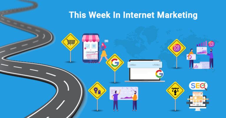 Esta semana: comercio electrónico, etiqueta de título de Google, Instagram y más.