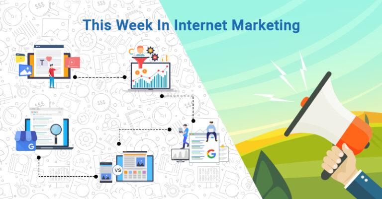 Esta semana: marketing de contenidos, tráfico pago, sitio de Google y más.
