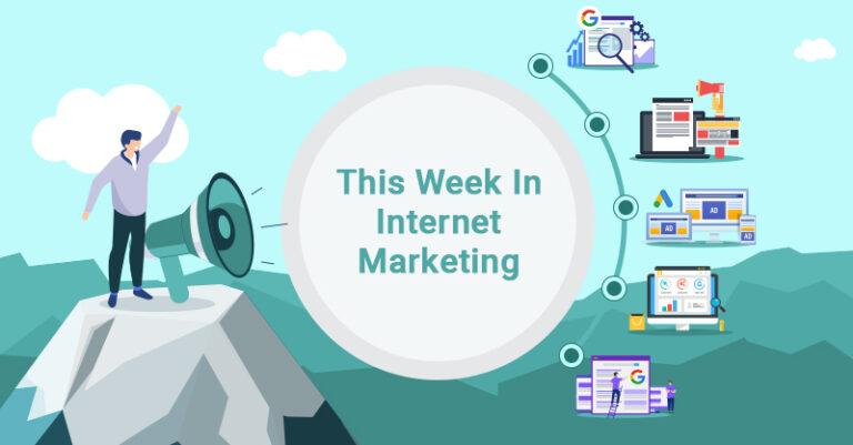 Esta semana: Google Analytics, Content Marketing, Google Ads y más.