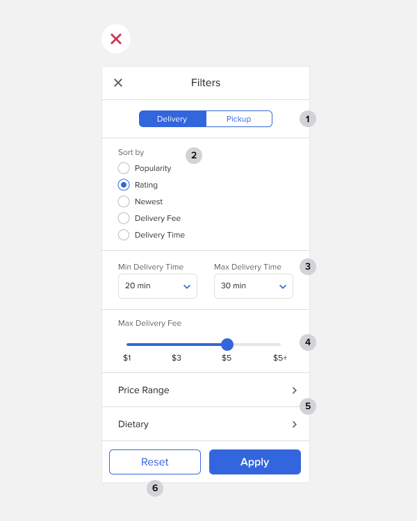 Pequeños detalles de UX: filtros buenos y malos