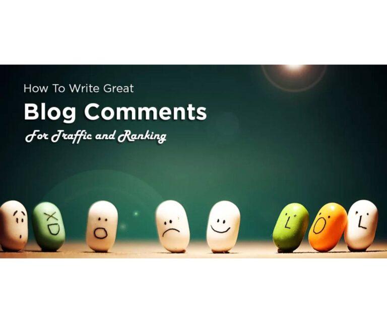 Cómo crear backlinks comentando en tu blog.  ¿Ayudan estos enlaces?